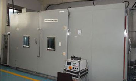 Test equipment technology yujin machinery for Chambre walk in